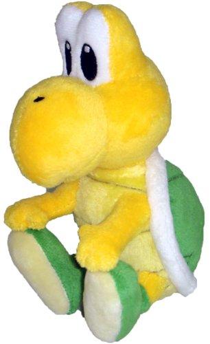 "Nintendo Official Super Mario Koopa Troopa Plush, 5"" - 1"