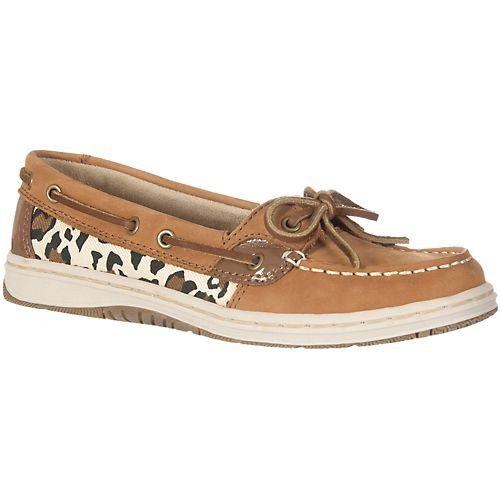 Paradise Shores Animal Ashley Womens Boat Shoes ANIMAL BROWN 8 M Wmns