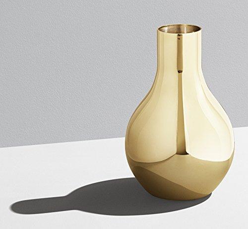Georg Jensen Cafu Vase vergoldet Höhe 14,8 cm