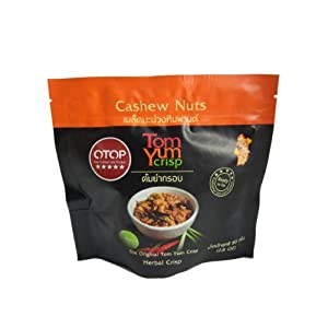 Tom Yum Crisp Cashew Nuts L by ThaiShop4You