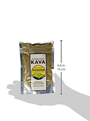 Hawaiian Kava Powder Piper Methysticum Root From Hawaii