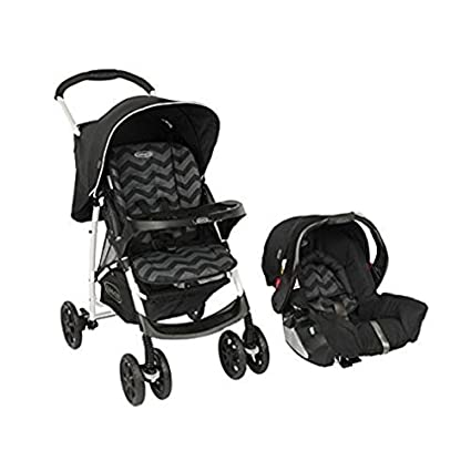 Graco Mirage Plus Travel System - Black