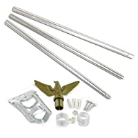US Flag Store Residential Flagpole Kit f...