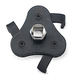 Neiko 03421A Auto Adjustable Universal Oil Filter Wrench with 3 Jaws