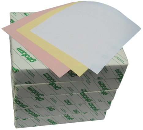 3 part carbonless paper It's a concept that dates back to manual typewriters and carbon paper, which  typists used to make multiple copies of a document without having.