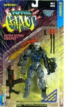Total Chaos Series 1 Al Simmons Action Figure - 1