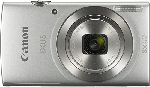 Canon Ixus 175 Fotocamera Compatta Digitale, 20 Megapixel, Argento