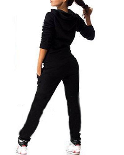 ZANZEA-Femme-Automne-Casual-3-Couleurs-Hoodie-Veste--Capuches-Manches-Longues-Pull-Shirt-Pantalons