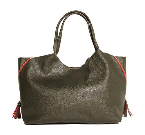 tutilo-womens-designer-handbags-feature-front-runner-tote-shoulder-bag-olive-green-red