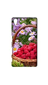 Multicolor Flower Painting Designer Mobile Case/Cover For XPERIA Z5
