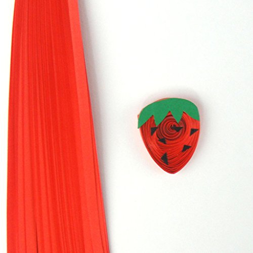 Quill On Quill On Quilling Strips, Red