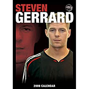 Football - Calendar Steven Gerrard 2008 by Happyfans