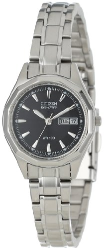 buy Citizen Women'S Ew3140-51E Eco-Drive Stainless Steel Sport Watch