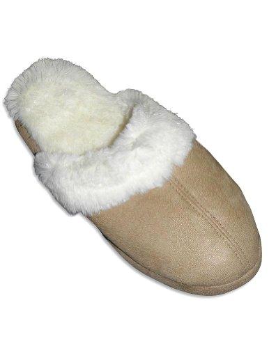 Cheap Goldtoe – Ladies Slipper, Beige, Winter White 27624 (B0064DS00O)