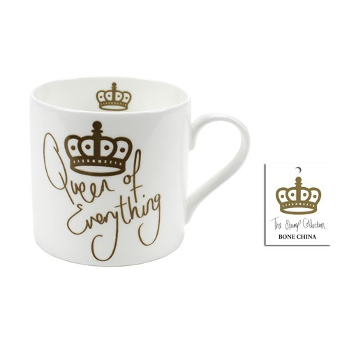Gift Republic. Queen of Everything Fine Bone China Mug