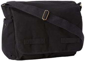 Rothco Classic Messenger Bag (Black)
