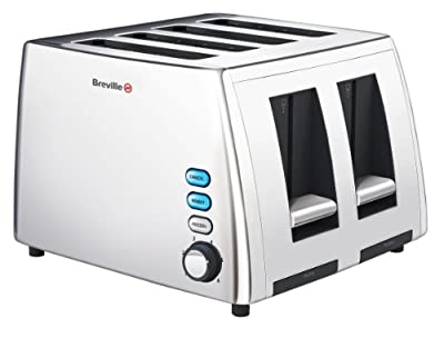 Breville VTT411 Stainless Steel 4-Slice Toaster from Breville