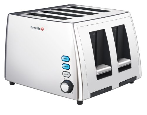 Breville VTT411 Stainless Steel 4-Slice Toaster by Breville