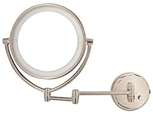 Amazon Com Danielle Led Lighted 2 Side Wall Mount Mirror