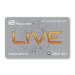 Xbox 360 Live 12 Month Gold Card plus 1 Month Bonus Review