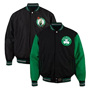 Boston Celtics Two Tone Reversible Jacket by JH Design Group