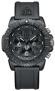 [ルミノックス]Luminox 腕時計 ネイビーシールズ カラーマーク クロノグラフ ブラックアウト 3081BlackOut メンズ 【正規輸入品】