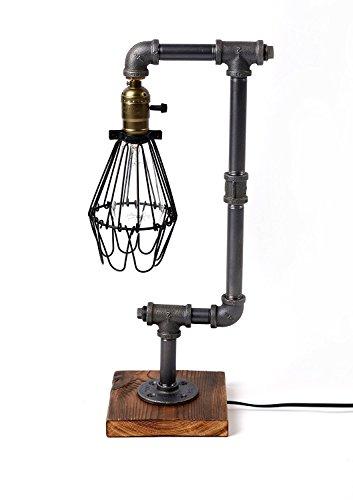 injure-eclairage-grenier-cru-industriel-conduite-deau-steampunk-bois-lampe-de-table-edison-lampe-de-