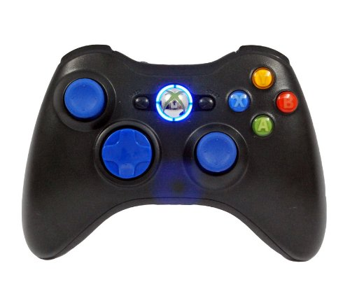 Xbox 360 Rapid Fire Controller Modded Blue Leds For Black Ops2 Mw3 Gow3 Cod Ghosts 27 Modes