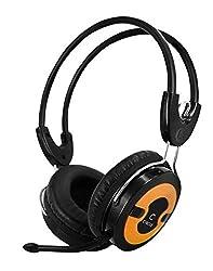 Circle Concerto Live - 203 Single Pin Headphone With Mic - Orange
