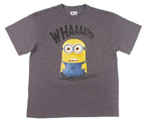 Despicable-Me-Whaaaa-Mens-T-shirt