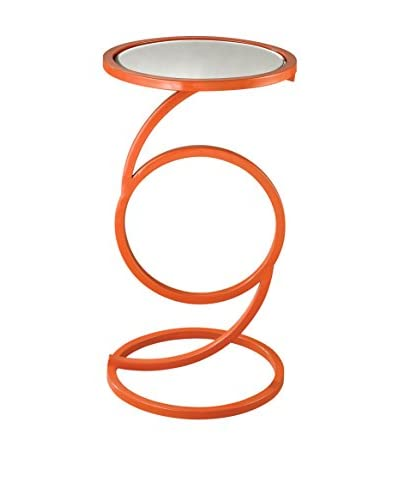 Artistic Eye End Table, Orange