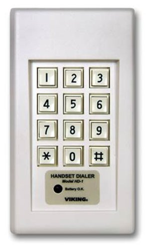 Brand New Viking Electronics Handset Dialer - White