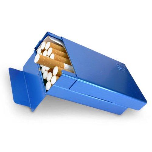 シガレットケース/タバコケース/煙草ケース/アルミケース/20P/ブルー