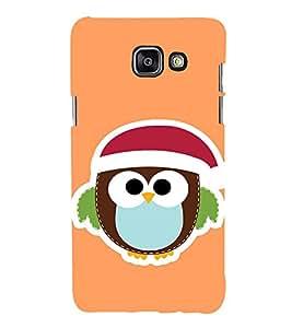 EPICCASE Cute Bird Face Mobile Back Case Cover For Samsung Galaxy A7 (2016) (Designer Case)