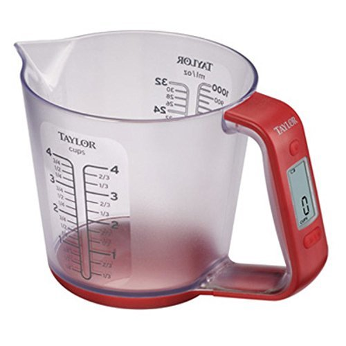 Taylor 3890 Digital Scale with Measuring Cup by Taylor
