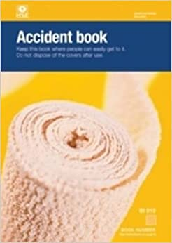 Accident Book Bi 510 Amazon Co Uk Health And Safety