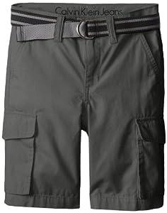Calvin Klein Boys 8-20 Belted Cargo Short from Calvin Klein