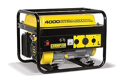 Champion Power Equipment 46596 4000-Watt Portable Generator