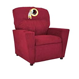 Imperial Officially Licensed NFL Furniture: Pre-Teen Microfiber Recliner, Washington Redskins
