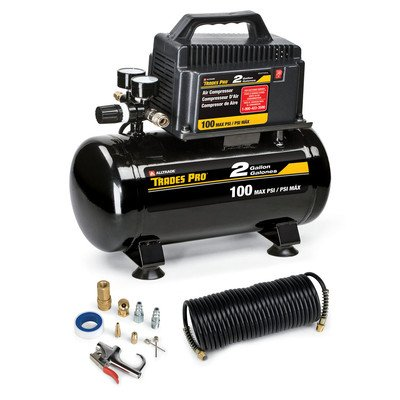 Tradespro 837254 2 Gallon Air Compressor Kit