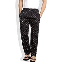 London Bee Men's Cotton Smile Print Pyjama/ Lounge Pant (Medium)
