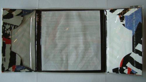 Briefpapier 17 cm x 17 cm 10 Blatt 5 Umschläge C 6