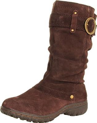 Khombu Women's Igloo 2 Boot,Dark Brown,6.5 B (M) US