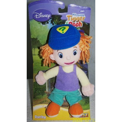 "Darby Disney My Friends Tigger & Pooh Disney Beanz 8.5"" Plush Doll - 1"