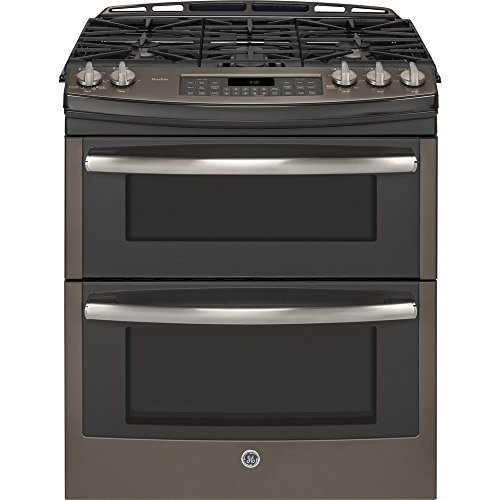 GE-PGS950EEFES-Profile-30-Slate-Gas-Slide-In-Sealed-Burner-Double-Oven-Range-Convection