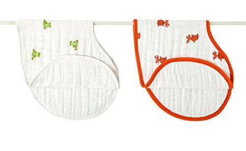 aden + anais 2 Pack Muslin Burpy Bib, Mod About Baby