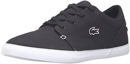 Lacoste Men's Bayliss 316 3 Spm Fashion Sneaker, Black/Grey, 9 M US