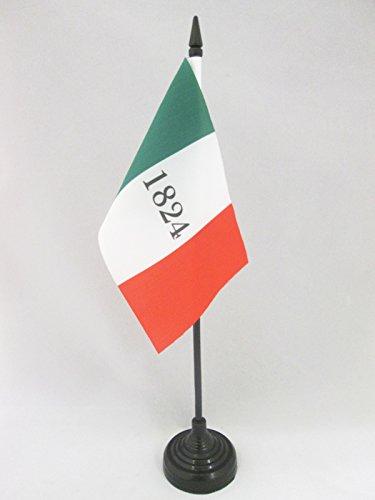 az-flag-alamo-1824-table-flag-4-x-6-alamo-1824-usa-desk-flag-15-x-10-cm-black-plastic-stick-and-base