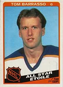 1984 O-Pee-Chee Regular (Hockey) Card# 212 Tom Barrasso - All Star of