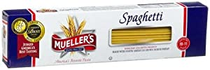 Mueller's Spaghetti Pasta 12 oz (Pack of 20)